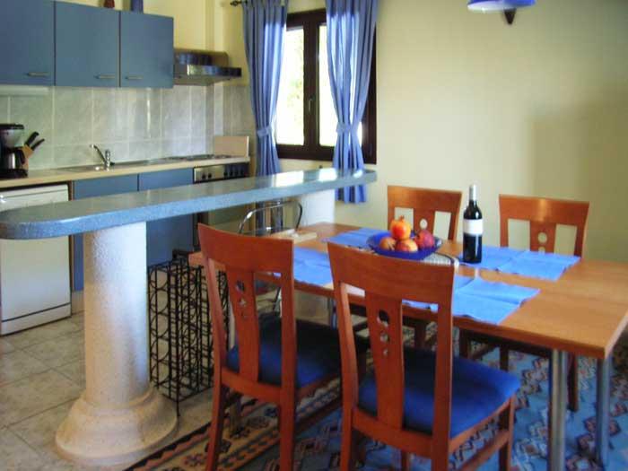 Küche 2 Finca Ferienwohnung Mallorca mit Pool PM 549