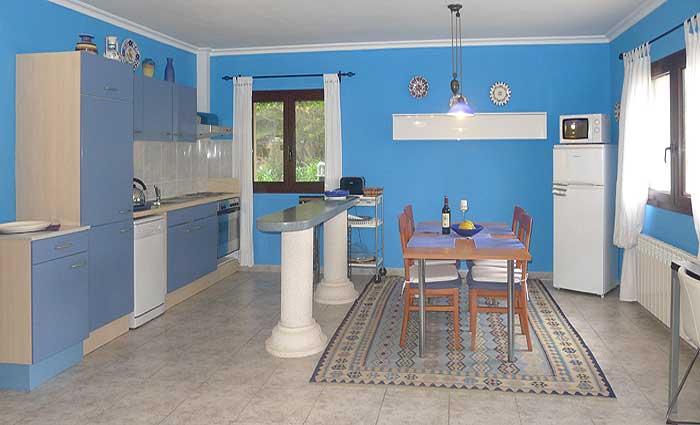Küche Ferienwohnung Mallorca PM 549