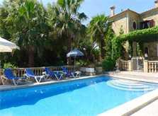 Finca und Pool der Ferienwohnung Mallorca mit Pool PM 549