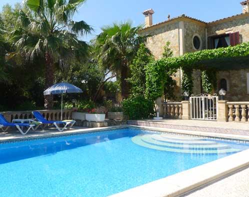 Pool und Finca Ferienwohnung Mallorca Arta 2 - 4 Personen PM 549