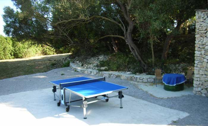 Tischtennisplatte Finca Mallorca mit Pool Ferienwohnung 2 - 4 Personen PM 5491