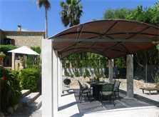 Veranda am Pool Finca Mallorca mit Pool Ferienwohnung 2 - 4 Personen PM 5491