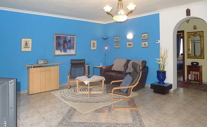 Wohnraum Finca Mallorca Ferienwohnung mit Pool PM 549
