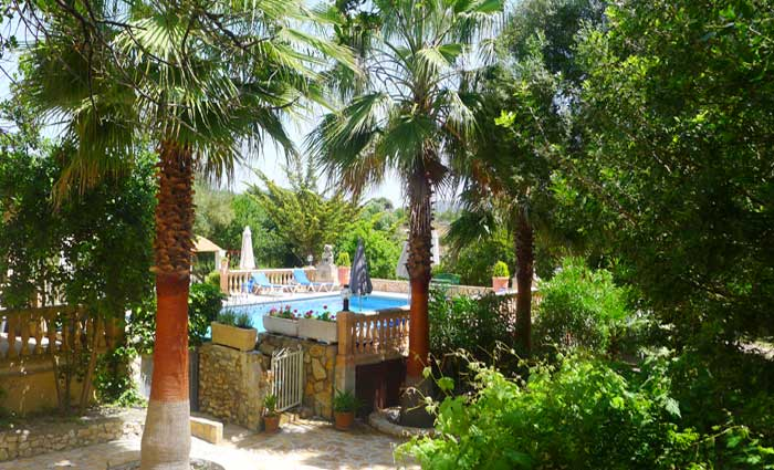 Garten 3 Finca Mallorca Ferienwohnung PM 5491
