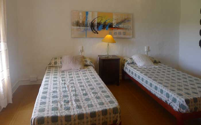 Schlafzimmer 4 Finca Mallorca mit Pool bei Arta PM 5492