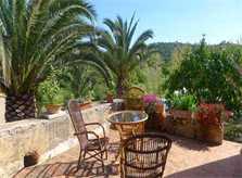 Terrasse 2 Finca Mallorca mit Pool bei Arta PM 5492