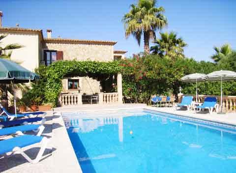Pool der Finca Arta Mallorca 2 - 4 Personen Ferienwohnung PM 5491