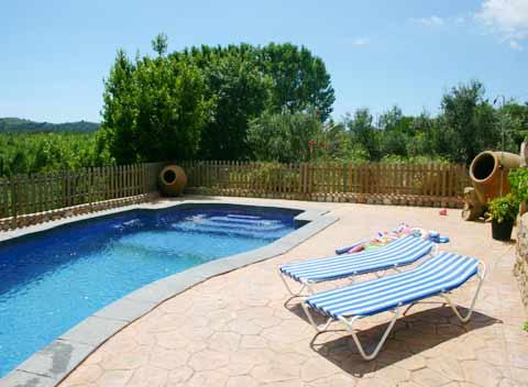 Pool der Finca Mallorca 2 - 4 Personen Arta Capdepera PM 565