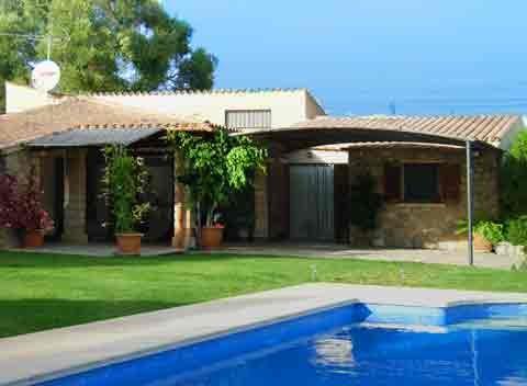 Großer Pool der kleinen Finca Mallorca Arta für 2 - 4 Personen PM 567