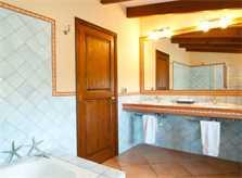 Badezimmer 2 Finca Mallorca mit Pool für 8 Personen bei Arta PM 569