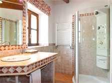 Badezimmer 3 Finca Mallorca mit Pool für 8 Personen bei Arta PM 569