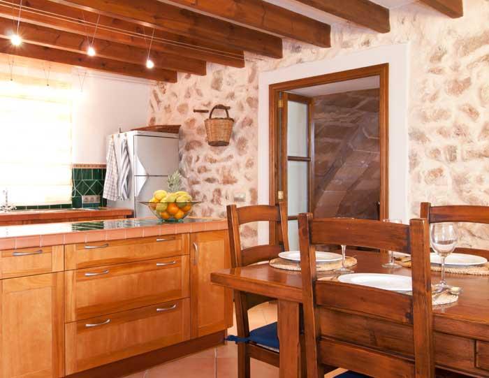 Kueche 2 Finca Mallorca mit Pool für 8 Personen bei Arta PM 569