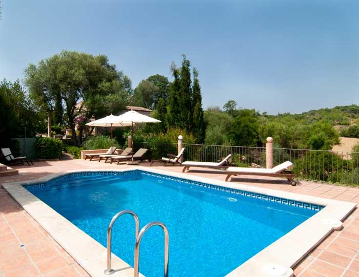 Pool und Blick 2 Mallorca Finca Arta 8 Personen PM 569
