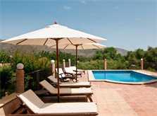 Pool mit Liegen Finca Mallorca mit Pool für 8 Personen bei Arta PM 569