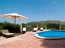 Poolblick Ferienhaus Mallorca 8 Personen PM 569