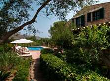Pool und Garten Finca Mallorca 8 Personen Arta PM 569