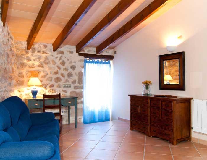 Schlafzimmer 3c Finca Mallorca mit Pool für 8 Personen bei Arta PM 569