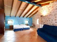 Schlafzimmer 3b Finca Mallorca mit Pool für 8 Personen bei Arta PM 569