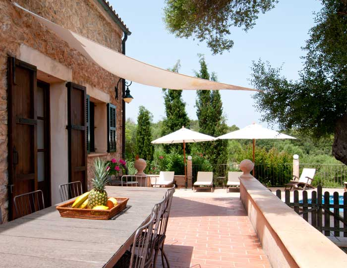 Esstisch Terrasse Finca Mallorca 8 Personen Arta PM 569
