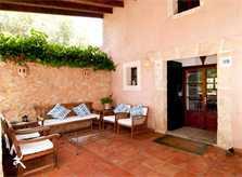 Sitzecke Terrasse Finca Mallorca 8 Personen Pool Arta PM 569