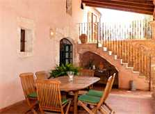 Essplatz Terrasse Finca mit Pool Mallorca 8 Personen Arta PM 569