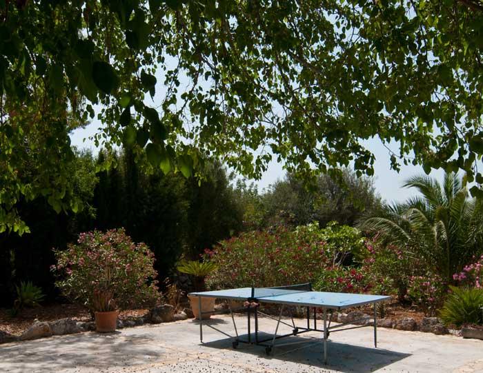 Tischtennis Finca Mallorca mit Pool für 8 Personen bei Arta PM 569