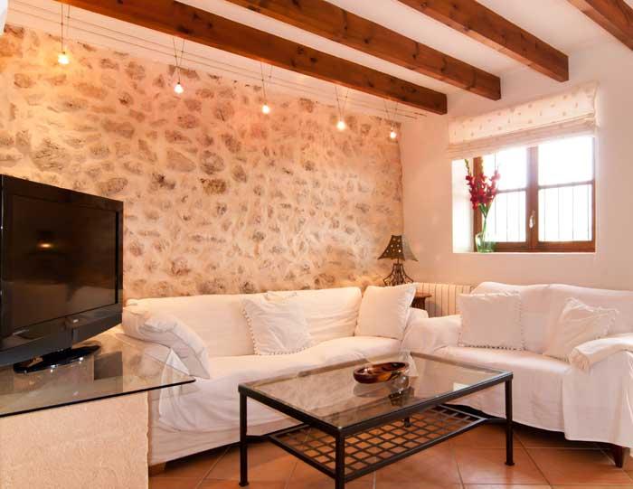 Wohnraum 2 Finca Mallorca mit Pool für 8 Personen bei Arta PM 569