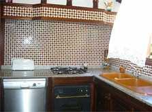 Küche Finca Arta Mallorca 6 Personen Pool PM 572