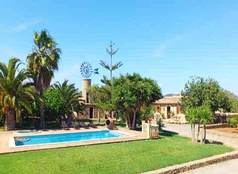 Pool Finca Mallorca für 8 - 12 Personen PM 5835