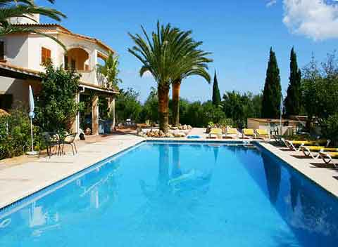 Großer Pool 12 x 5m Finca Mallorca 6 - 10 Personen PM 5891