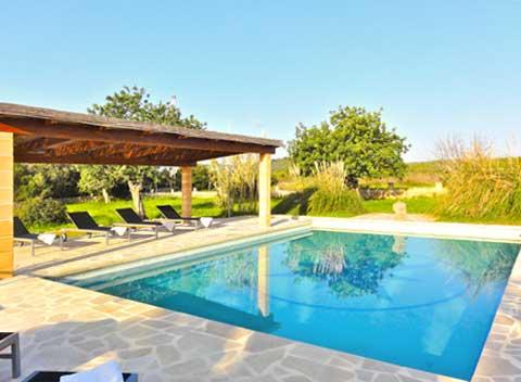 Terrasse Ferienwohnung Mallorca Finca 2 Personen PM 5902