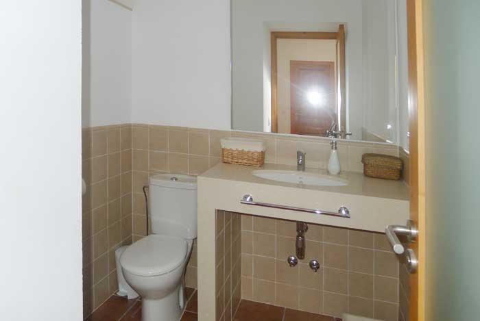 Modernes Badezimmer 3 Finca Mallorca mit Pool und Klimaanlage PM 5915