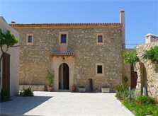 Blick 2 auf die Finca Mallorca mit Pool und Klimaanlage PM 5915