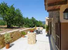 Terrasse Moderne Finca Mallorca 10 Personen PM 5915