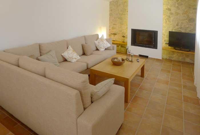 Wohnraum 2 Finca Mallorca mit Pool und Klimaanlage für 6-10 Personen PM 5915