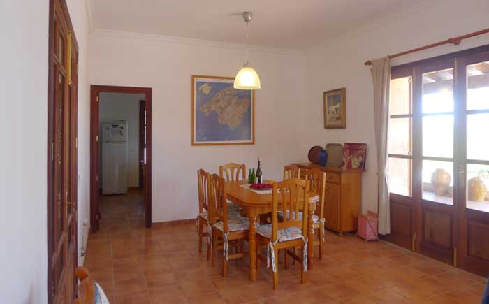 Esstisch Finca Mallorca Pool 6 Personen PM 5921