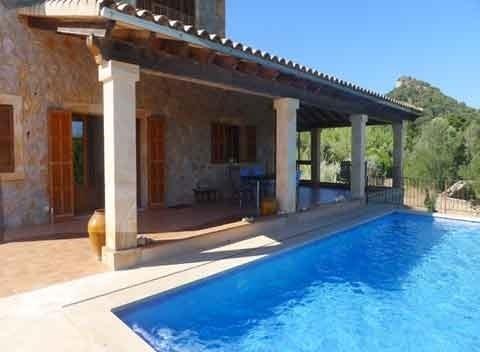 Großer Pool Mallorca Finca für 6 Personen im Nordosten PM 5921