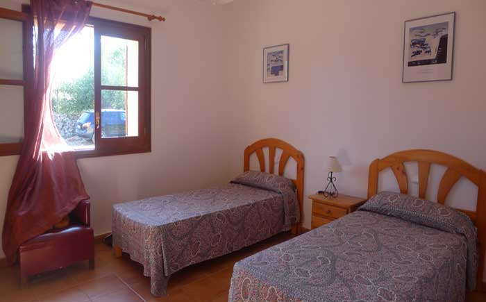 Schlafzimmer Finca Mallorca Pool 6 Personen PM 5921