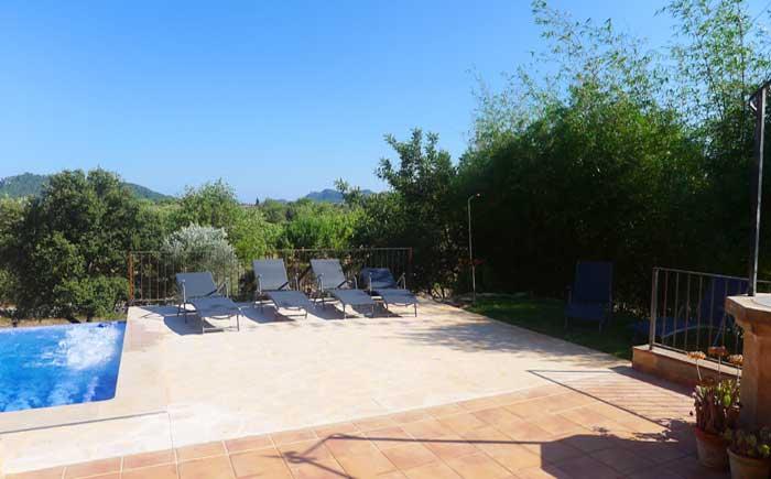 Terrasse Finca Mallorca Pool 6 Personen PM 5921