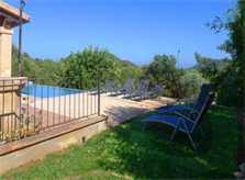 Blick 2 auf die Finca Mallorca Pool 6 Personen PM 5921