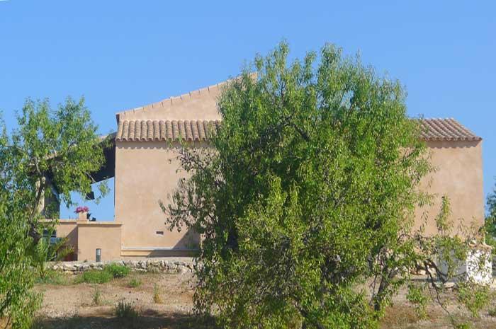 Blick auf die Finca Mallorca PM 5925