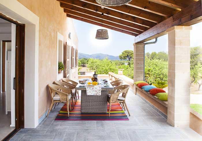 Terrasse Finca Mallorca PM 5925