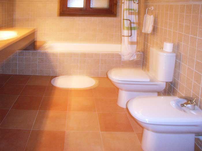 Badezimmer Finca Mallorca für 12 Personen mit Pool PM 597