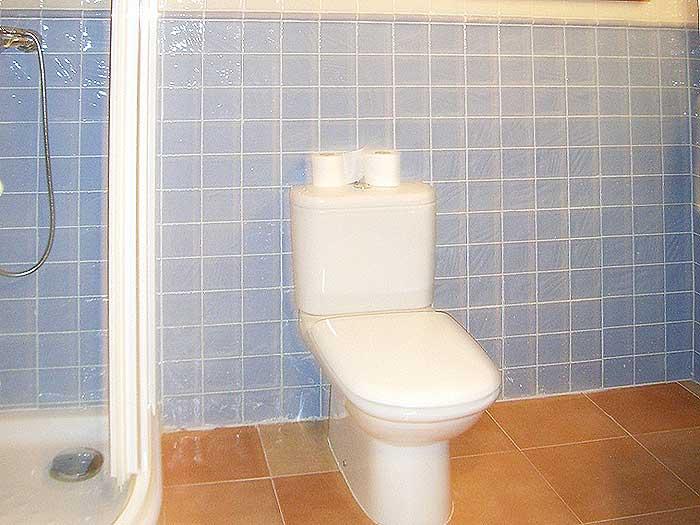 Badezimmer 3 Finca Mallorca für 12 Personen mit Pool PM 597
