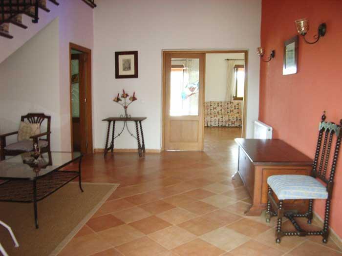 Eingangshalle Finca Mallorca für 12 Personen mit Pool PM 597