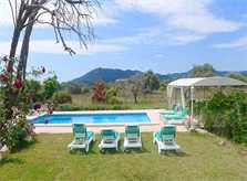 Poolblick Finca Mallorca für 12 PersonenPM 597