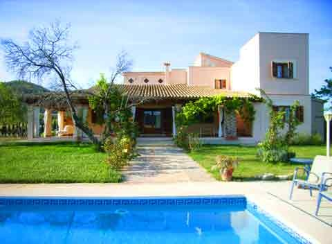 Pool und Ferienhaus Mallorca mit Pool 12 Personen PM 597
