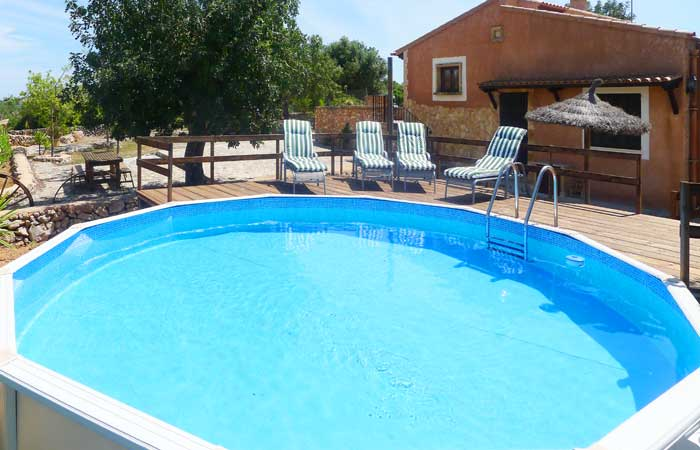 Schwimmbassin Finca Mallorca 2-6 Personen PM 6017