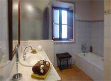 Badezimmer der Ferienwohnung Mallorca Pool Klimaanlage 2-6 Personen PM 6022