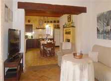 Gemütlicher Wohnbereich Ferienwohnung Mallorca 6 Personen Pool PM 6022